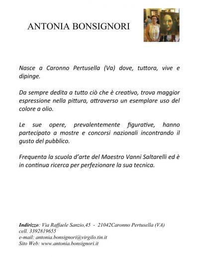 Bonsignori Antonia_bio